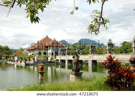 Royal Water Palace, Bali, indonesia