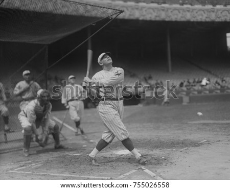 Royce 'Ross' Youngs played ten seasons in Major League Baseball for the New York Giants. His career ended when he died of Bright's disease at the age of 30 in 1927.