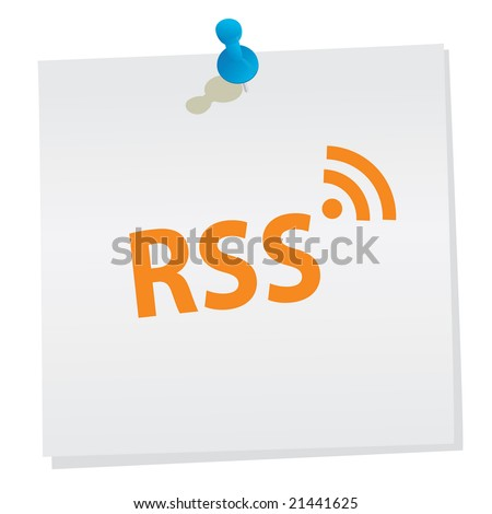 RSS - stock photo