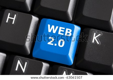 rss web or internet concept with a computer keyboard
