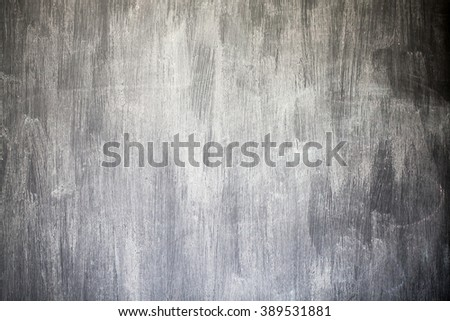 Rubbed out chalk on blackboard, close up