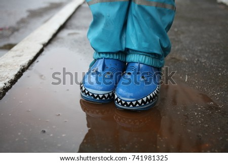 rubber boots  #741981325