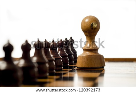 Rubber Stamp and Chess