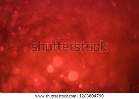 Ruby red bokeh background