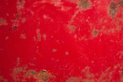 rugged and weathered red metal texture