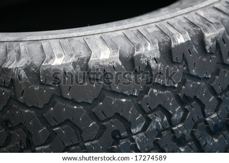 Rugged Black Tire / Tyre For Multi Purpose Use
