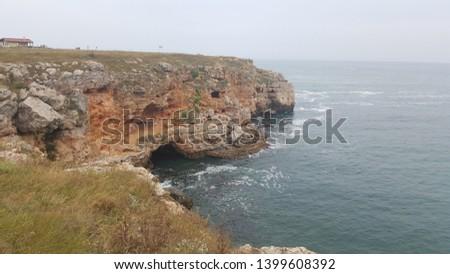 Rugged cliffs of Black Sea coast, Bulgaria