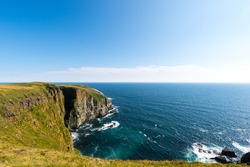 Rugged cliffs of Cape St. Mary's Ecological Reserve