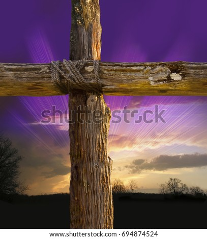 Rugged Cross  #694874524
