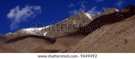 Rugged Landscape, Mountain Climb- Stok Kangri (6,150m / 20,080ft), India