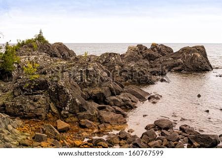 Rugged northern coast of Lake Superior