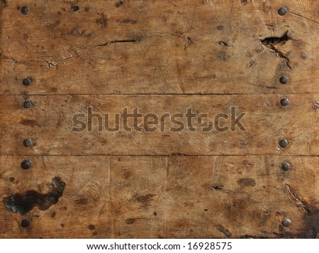 Rugged wood surface