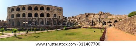 Ruin city at Hyderabad city - India