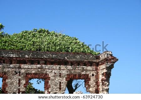 Ruin Near Aguadilla Puerto Rico