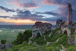 Ruin of castle Plavecky - Slovakia