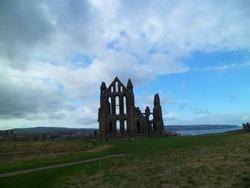Ruined abbey - Whitby, UK