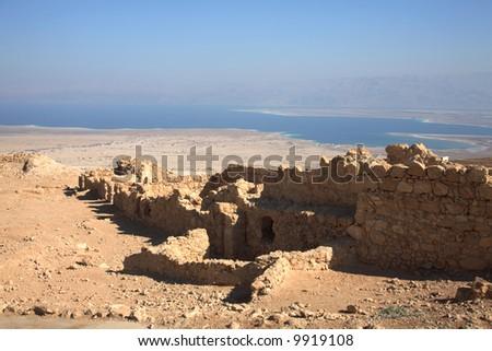 Ruins at Masada National Park, Israel