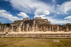 Ruins in Chichen Itzá Mexico