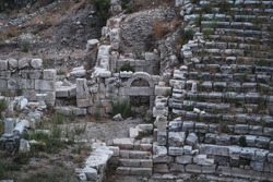 Ruins of a amphitheatre, Olba. Turkey