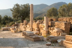 Ruins of ancient Nysa on the Maeander is a true gem of Caria hidden in the deep valleys of the Aegean. An important Carian centre, the ancient city was located in the north of the region.