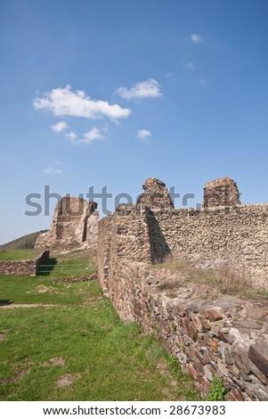 ruins of castle Lichnice, Czech Republic