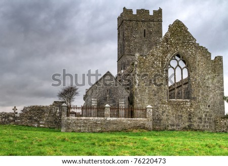 Ruins of Clare Abbey - HDR