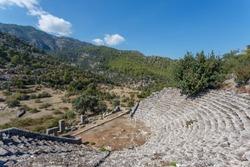 Ruins of Pinara ancient city, Turkey
