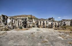 Ruins of Poggioreale, Sicily