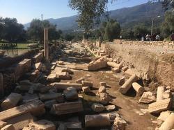 Ruins of Roman Collonnaded Street of Nysa (Sutunlu Cadde)