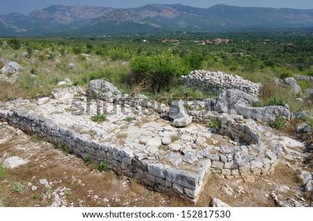 ruins of Sas Stari Grad, Montenegro