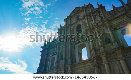 Ruins of St. Paul's, long as history stand, iconic and beautiful.  #1465430567