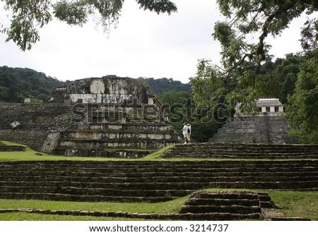 Ruins. Palenque. Mexico