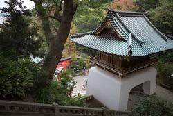 Ruishinmon of Enoshima Shrine in Enoshima
