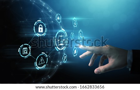 Rules for compliance with policies business technology concepts Foto stock ©