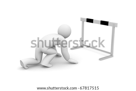 Run with barrier