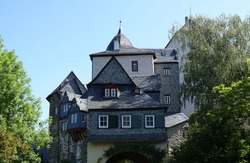 Runkel Castle on the Lahn