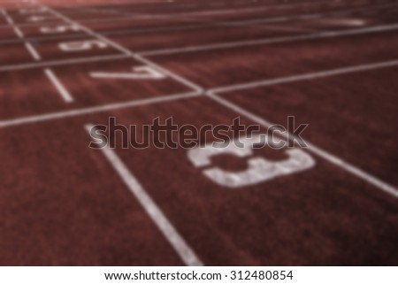 running course starting point