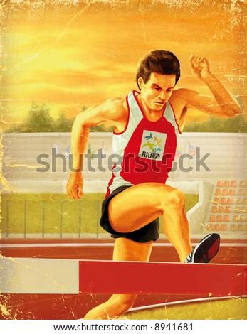 running man, olympic games