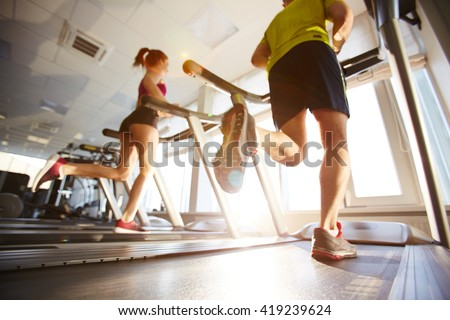 Running on treadmills
