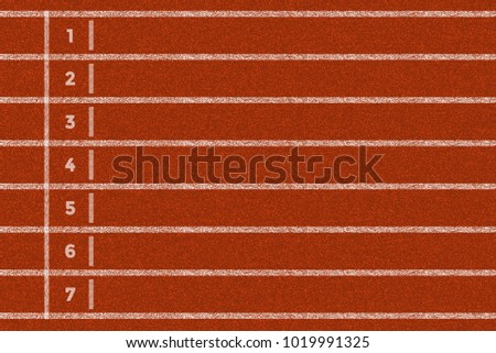 Running track background #1019991325