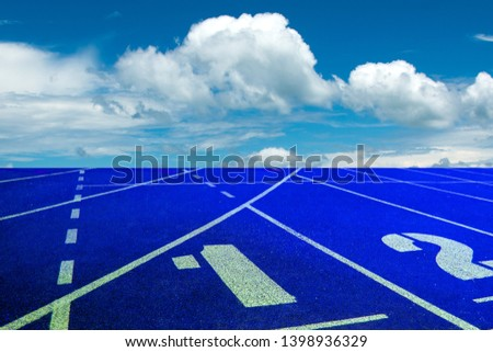 Running track for the athletes background, Athlete Track or Running Track