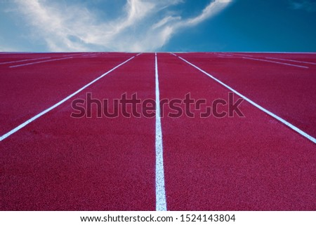Running track for the athletes background, Athlete Track or Running Track #1524143804