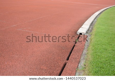 Running track lines,Track for runners