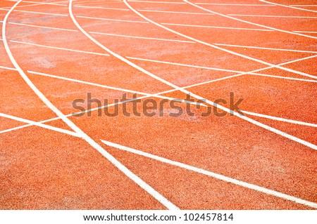 Running track numbers in Stadium.
