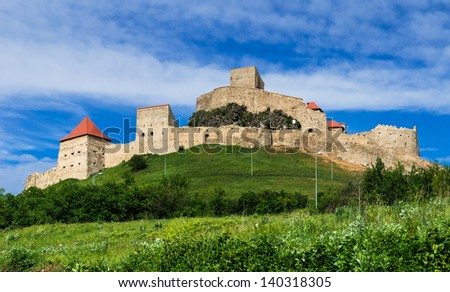 Rupea fortress is in Brasov county, Transylvania, Romania. Built in XIVth century by saxon rebels, nowday is ruined.