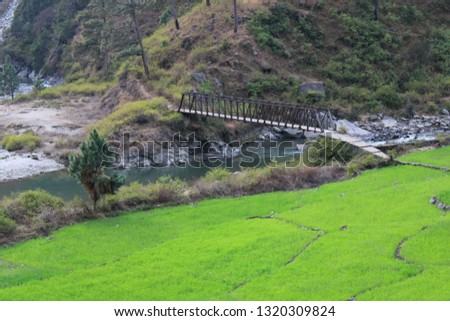 Rural areas of Uttrakhand India #1320309824