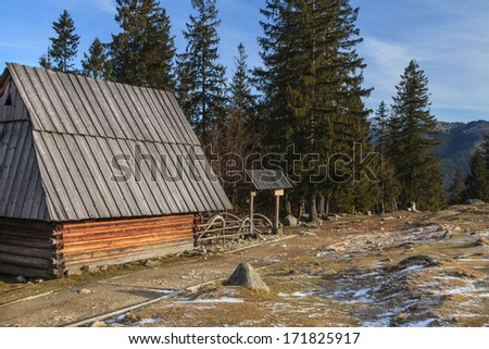 Rural cottage in the mountains #171825917