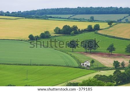Rural Devon House - soft focus
