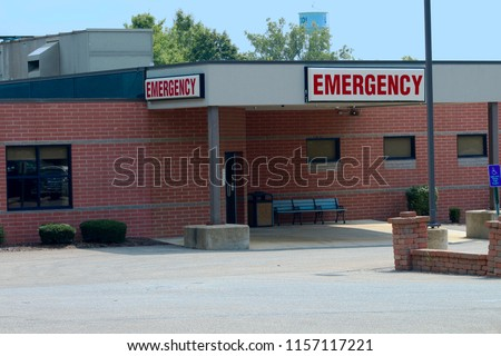 rural emergency room exterior