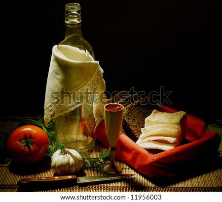 Rural food and vodka